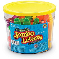 Jumbo Magnetic Lowercase Letters (40 PC
