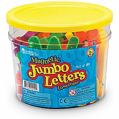 Jumbo Lowercase Magnetic Letters