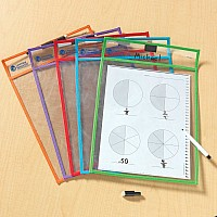 Write and Wipe Pockets - Set of 5