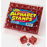 Lowercase Alphabet and Punctuation Stamps