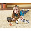 Jumbo Zoo Animals Figurines