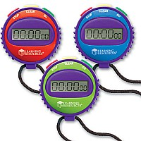 Simple Stopwatch, Set of 6 in Display