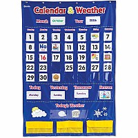 Calendar Weather Pocket Chart