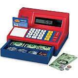 Pretend and Play Calculator Cash Register International Version - No Currency