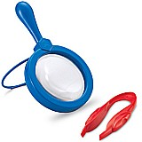 Magnifier & Tweezers Set