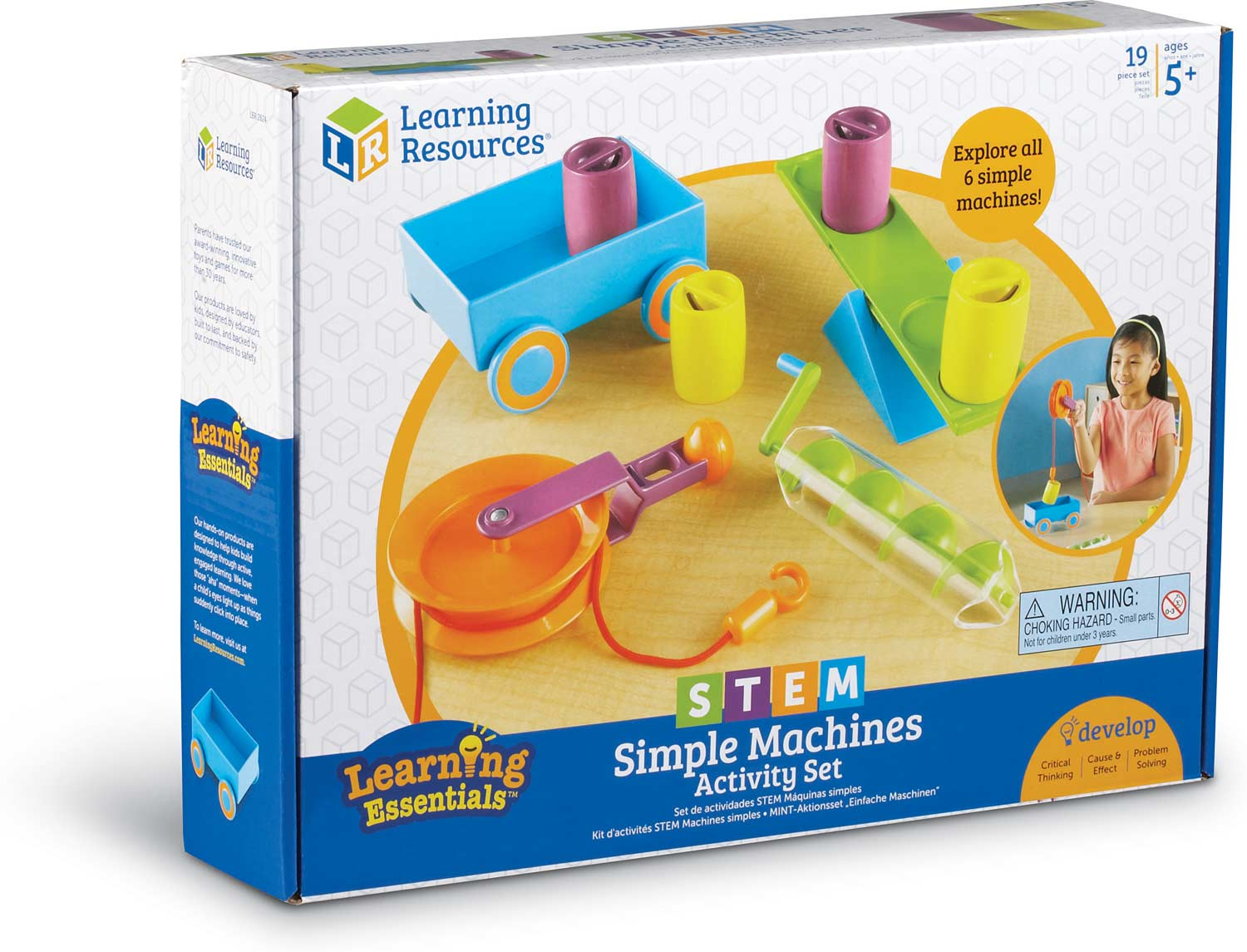 Stem Simple Machines Activity Set Adventure Toys