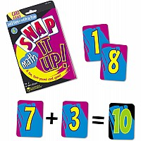Snap IT Up! Math: Add/ Sub Card Game