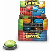 Recordable Answer Buzzers, Set of 12 in Display