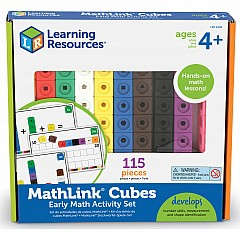 Mathlink Cubes Early Math Activity Set