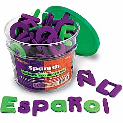 SPANISH MAGNETIC SOFT FOAM LETTERS