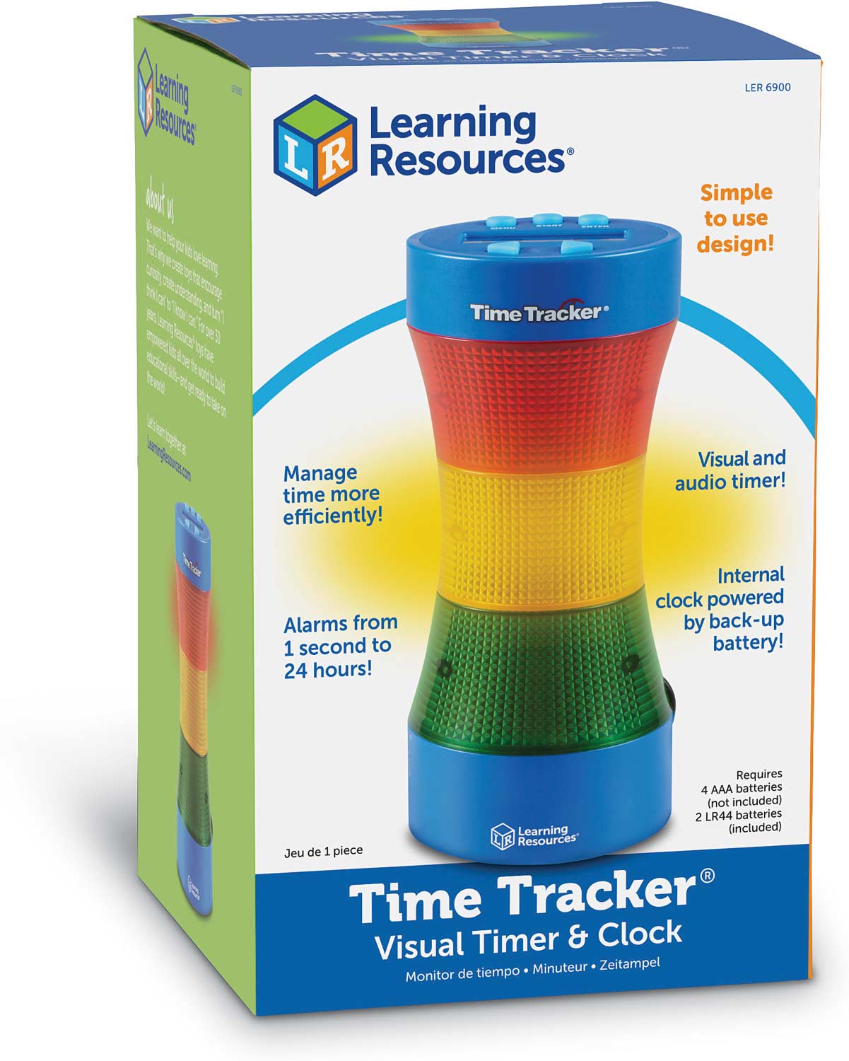 time tracker visual timer and clock kool child