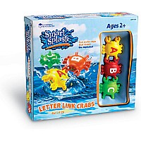 Smart Splash Letter Link Crabs