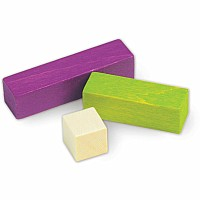 Cuisenaire Rods Introductory Set, Wood