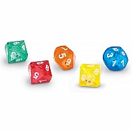 10-Sided Dice In Dice Set Of 5