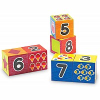 Learning Essentials Numbers  Shapes Puzzle Blocks