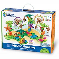 Gears! Gears! Gears! Movin' Monkeys Building Set