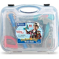 Pretend and Play Work Belt Tool Set