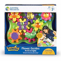Learning Essentials Flower Garden Build  Spin