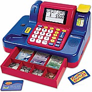 Pretend & Play Teaching Cash Register with Canadian Currency
