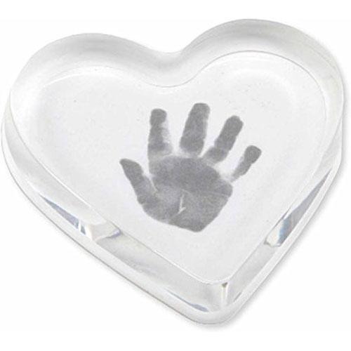 c r gibson heart handprint paperweight kit g willikers