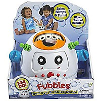 Little Kids Fubbles Bump 'n Bubble Robot
