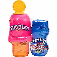 Little Kids Fubbles No-Spill Bubble Tumbler Minis includes 2 Fl.  Oz.