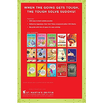 Will Shortz Presents Keep Calm and Sudoku On: 200 Easy to Hard Puzzles