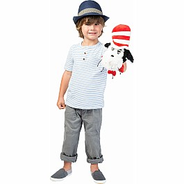 Dr Seuss Cat in the Hat Hand Puppet