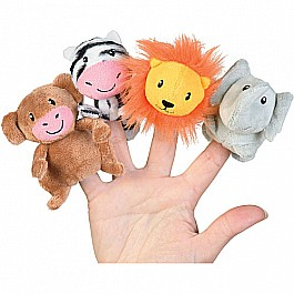 sweet safari finger puppets