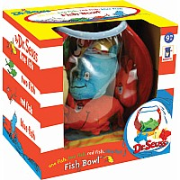 Dr. Seuss One Fish, Two Fish, Red Fish Blue Fish Fish Bowl