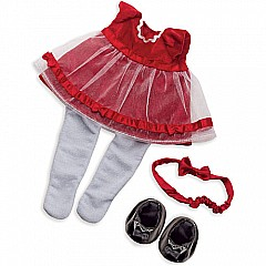 Baby Stella Fanciful Frills Holiday Outfit