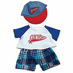 Baby Stella Ball Park Fun Outfit