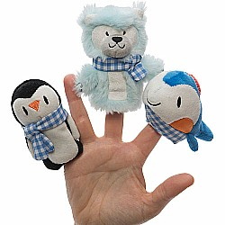 Brrr! Buddies Finger Puppets (3 styles, 4 pcs each)