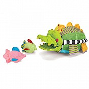 Royal Jungle Alligator Bath Toy