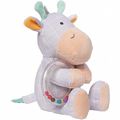 Playtime Plush Giraffe with Ring Rattle