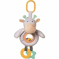 Playtime Plush Giraffe Rattle Toy