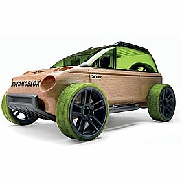 Automoblox X9-X Sport Utility Green Mini