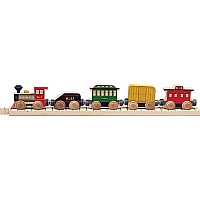 Nametrain Classic Train Car Set