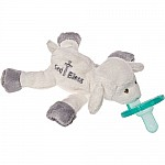 """God Bless"" Lamb WubbaNub Pacifier-7"""