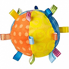 Taggies Colours Toss the Taggies Chime Ball - 7""