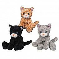 Catsy Kitty - Set of 3 - 6""