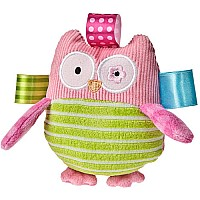 Taggies Oodles Owl Rattle - 5""