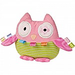 Taggies Oodles Owl Soft Toy - 8""