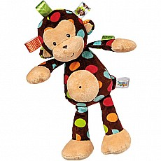 Taggies Dazzle Dots Monkey Soft Toy-12""