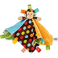 TAGGIES Dazzle Dots Monkey Character Blanket - 13.5