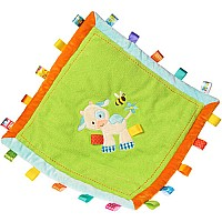 TAGGIES Casey Cow Cozy Blanket - 16x16""