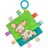 Taggies Crinkle Me Patches Pig - 6.5x6.5""