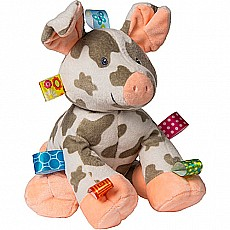 Taggies Patches Pig Soft Toy-12""