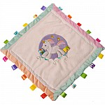 Taggies Dreamsicle Unicorn Cozy Security Blanket-16x16""