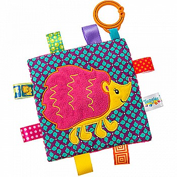 Taggies Crinkle Me Hedgehog-6.5x6.5""